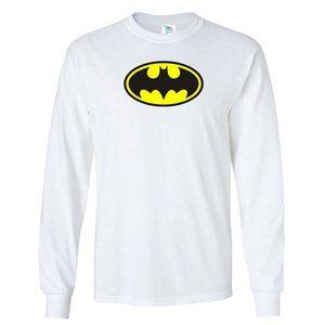 Youth Kids DC Comics Batman Logo Long Sleeve